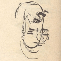 When Life magazine asked comic artists in 1947 to draw their characters blindfolded, these were the resulting sketches.