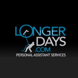 Longer Days ~ love the logo for this personal assistant service ~ as for whether they are good, no clue, but i'm curious! [Update: tried them for a little over a month, didn't work out so well]