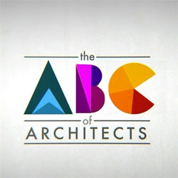 The ABC of Architects, an alphabetical list of the most important architects with their best known building directed by Federico Gonzalez and animated with Andrea Stinga.