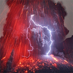 Martin Rietze's incredible photos of the eruption of the Sakurajima Valcano in southern Kyushu.