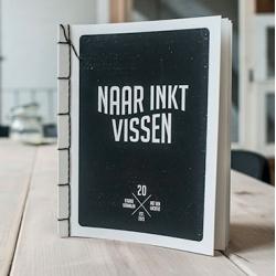 Naar Inkt Vissen (Fishing For Ink), a book from Utrecht based Today Designers using squid ink.