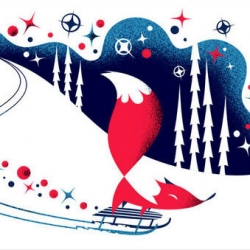 Charming illustrations from Polkka Jam (Kristiina Haapalainen and Sami Vähä-Aho).
