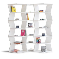 B-Line Zig-Zag Modular Bookcase