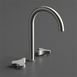ZIQQ faucets from CEA Design by Mario Tessarollo & Daniela Lovato.