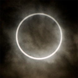 Beautiful photos of yesterday's solar eclipse.
