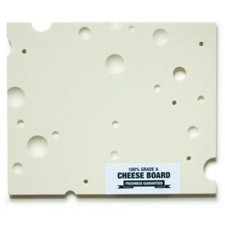 Pretty cheese board designed by Bjarke Ballisager.
