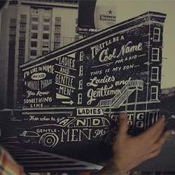 Kevin Steen captures hand-drawn typography by Jon Contino.