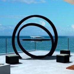The sculptural Cesarre Kara Grill.