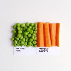 David Schwen's Pantone food pairings.