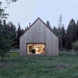 Haus am Moor in Krumbach, Austria by Bernardo Bader.