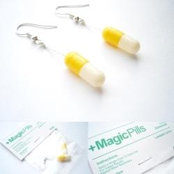+Magic Pill earrings. Need we say more.
