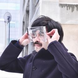 Ice Glasses by Baku Maeda.