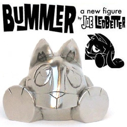 "Joe Ledbetter's metal ""Bummer"" would be an awesome paperweight ~ particularly for all the stuff you just don't really want to get to doing."