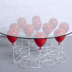 UP BALLOON COFFEE TABLE, ROUND EDITION 2015