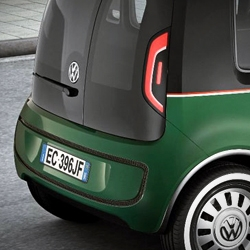 At the recent Hanover Trade Show, Volkswagen presented the Milano Taxi Concept, a design study of a mass-market, compact, emission-free taxi with an electric power-train that allows for a range of up to 300 km.