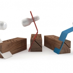 EDI, which takes its name from the little helper Gyro Gearloose in the comic Mickey Mouse, is an object that combines color, a fresh character and friendly, textures and beauty of natural wood, simple lines, sharp, and to a mature formal synthesis.
