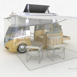 Who needs houses then?? Verdier Solar Power ~ whole new way of living and driving.
