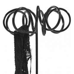 Visp is a funny coathanger made of bent steel tube. Designed by Staffan Holm for Bla Station.