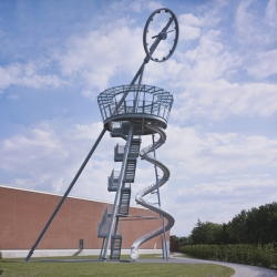 Vitra Slide Tower by Carsten Höller at Vitra Campus