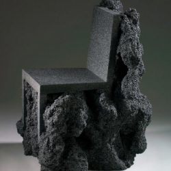 volcanic chair is a chair made from molten volcanic rock that is formed into a unique and unusual chairs. want to know the original?