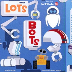 Making of the new PIXAR picture book for the WALL-E Film.