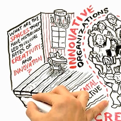 'Where Good Ideas Come From' video by Steven Johnson ~ gorgeously fun animation!