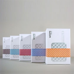 Great branding and packaging for a vaporizer from Oglesby & Butler by Sequitur Creative and ID partners at Thing Tank.