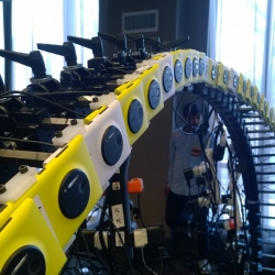 """Paul Trillo and Nokia's creative Lab to control 50 Nokia Lumia 1020 smartphones simultaneously in """"Living Moments"""" to capture the bustling streets of New York, through the powerful 41-megapixel Lumia 1020 camera."""