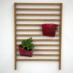 'Lucy' wall organizer by Rachael Rendely, RISD.