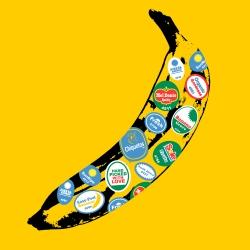 illustrator Ryan Chapman's simple twist on Andy Warhols classic banana.