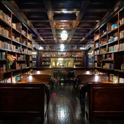 Perhaps it comes as a surprise that there is currently a trendy movement occurring in Los Angeles that has seen the marriage of books and bars.