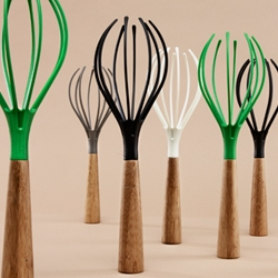 A whisk named Whisk designed by the Italian design duo LucidiPevere.