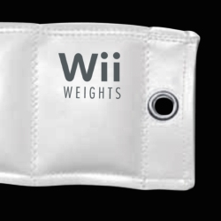 An novel way to make the Wii even more of a workout. Inserts allow for three levels of activity from featherweight (1 lbs.) to heavyweight (4 lbs.). Plus an eyelet helps keep your controls away from the plasma tv!