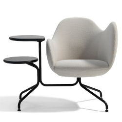 Wilmer S90 is an asymmetric armchair which has been designed by Stefan Borselius for Blå Station.