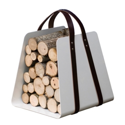 Great way of carrying wood. It looks pretty good too.