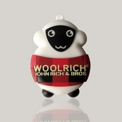 Fashion brand Woolrich and Milan's own designer Gianni Rossi teamed up to create a Woolrich 2-in-1 USB-Stick.