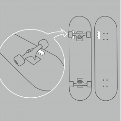 Skatepath, a collaborative and artistic approach for visualizing covered distances by skating, from Moritz Resl and Paul Sommersguter.
