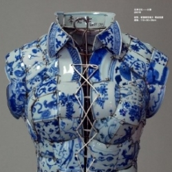 Li Xiaofeng designs clothing out of porcelain. Breathtakingly beautiful.