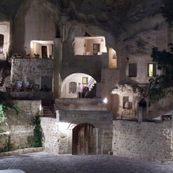 Yunak Evleri hotel in Cappadocia, Turkey, famous for its cave-houses