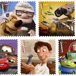 wow! 2011 will see the USpostal service issue a series of Pixar stamps from the movies.