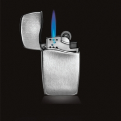 Zippo finally created an alternate lighter for those times when a classic Zippo is simply inappropriate for the task.