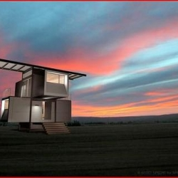 Sure, self sufficient houses are a dime-a-dozen these days, but I've yet to see one this architecturally stunning both inside and out. The zeroHouse from Specht Harpman.