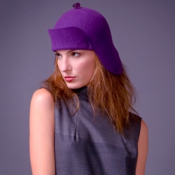 NEW urban hats designs by Vancouver designer - Claudia Schulz