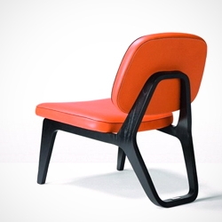 'Moonlounger' low chair designed by Gerd Couckhuyt for Wildspirit.