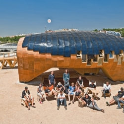 The bending of the solar rays: FAB LAB HOUSE | by the students of IAAC and MIT