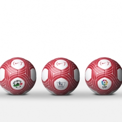 Nike's recent football related headlines continue with the announcement of a special (PRODUCT)RED™ ball that has been released as part of the 'Lace Up, Save Lives' partnership between the two entities.