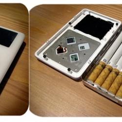 iPod as cigarette case