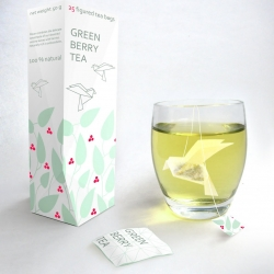 Nice project here designed by Nathalia Ponomareva from Russia. These tea bags created by the principles of origami.