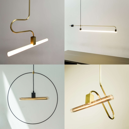 SYNTAX is a socket system for s14 tube bulbs created by studio RLON. Speak a new language of light with tube bulbs.