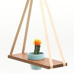 A-frame plant hanger from Poketo.